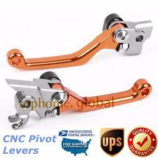 For KTM 350 SX-F XC-F XCF-W EXC-F 2011-2013 Clutch Brake Levers Pivot Orange US