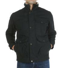 Fjallraven Mens Ovik Winter Jacket Full Zip Lined Coat Black XS