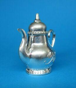 AUCTI Vintage BARBIE SKIPPER - INVITATION TO TEA / TEA PARTY > Silver Teapot Lid