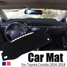 Car Dashboard Cover Dash Mat Non-Slip Sun Cover Pad For Toyota Corolla 2014-2018
