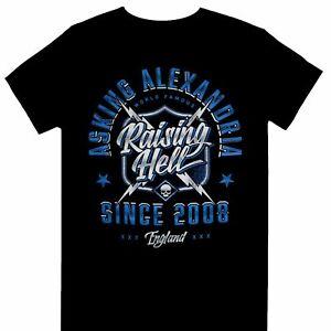 Asking Alexandria - Raising Hell Since 2008 - Men's Unisex size Large t shirts