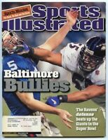 SI: Sports Illustrated February 5, 2001 Baltimore Bullies: Jamie Sharper, Ravens