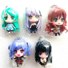 BanG Dream! Girls Band Party! Roselia Mini Figure with Ball Chain Rinko Ako...