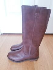 NEW Girls Youth size 4 tall brown boots Cat and Jack