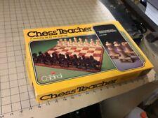 Vintage complete -- CHESS TEACHER learning set for the beginner - Cardinal -1979