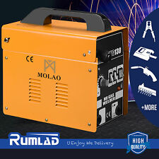 130 MIG Welder Flux Core Automatic Feed Welding Machine WIre Automatic Free Mask
