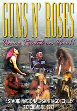 GUNS N ROSES 12.02.92 - SANTIAGO,CHILE DVD   I ACCEPT PAYPAL!!!