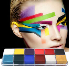 Professional 1 Set 12 Colors Flash Tattoo Face Body Paint Oil Painting Art WW