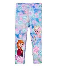 Disney Die Eiskönigin Elsa & Anna Leggings blau Gr.98,104,110,116,128,140