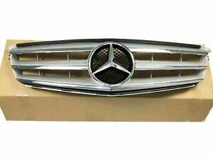 For Mercedes-Benz C Class W204 C250 C300 C350 Front Grill Chrome Grille 2008-14