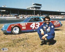 Richard Petty NASCAR Signed Auto 8x10 Photo Beckett BAS COA
