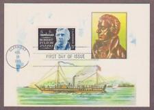 US # 1270 Inventor Robert Fulton Colorano Maxi Card - I Combine S/H