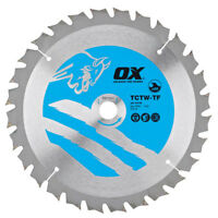 OX Wood Cutting Thin Kerf Circular Saw Blade All Sizes x All Teeth | OX-TCTW-TF
