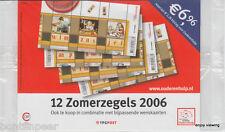 NVPH 2417-18 POSTFRIS 4 X BLOK ZOMERZEGELS 2006 IN TOONBANKVERPAKKING SCHAARS !!