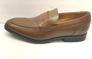 Clarks Size 7 Brown Leather Loafers New Mens Shoes