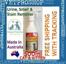PEE OFF For Kittens & Cats - Urine, Odour and Stain Remover 500ml - Urine off