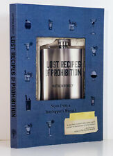 BOOTLEGGER Recipes Prohibition Cookbook Roaring 1920s Cocktail Liquor History