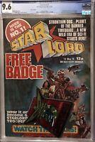 Starlord (IPC) #1 With Free Badge CGC 9.6 WP