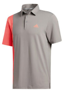 adidas Ultimate365 Blocked Print Golf Polo Shirt Men's New - Choose Color & Size