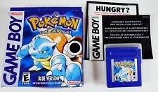 Pokemon Blue Version (Game Boy, 1998)