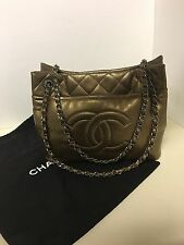 Chanel Grand Shopping Quilted Caviar Leather