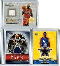 BARON DAVIS LOT OF {4} MINT ALL DIFFERENT AUTHENTIC GAME USED JERSEY CARDS