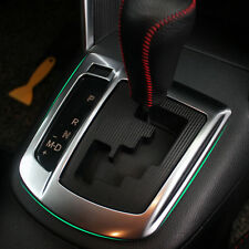 Chrome Center Console AT Gear Shift Panel Cover Frame Trim For Mazda CX-5 13-15