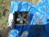 fiat 124 spider heater fan motor half box