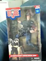 """Rare GI Joe Diplomatic Security Service Special Agent12"""" Action Figure New"""