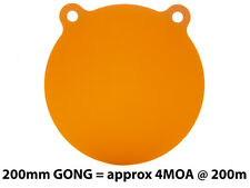 """200mm (8"""") AR500 12mm (1/2"""") Thick Steel Gong Rifle Target"""