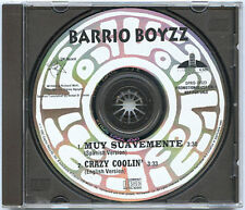 BARRIO BOYZZ advance promo 1992 CD Muy Suavements Crazy Coolin Spanish + English