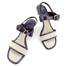 Bally Flip Flops Beige Brown Woman Authentic Used T4211