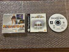 Final Fantasy Tactics (Sony Playstation 1, Ps1) - Complete Black Label -