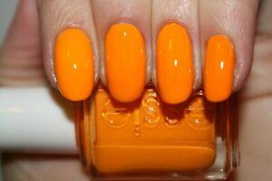 Essie Nail Polish Lacquer Action HTF & RARE~Bright Vivid Tangerine Orange~2012