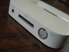 Apple Original iPod Photo Nano Touch DOCKING W/ S-Video 603-5495 591-0226 NEW