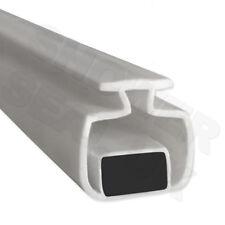 2 M Magnétique Channel douche Boîtier Aimant de Porte Seals x1 paire verticale 11 mm