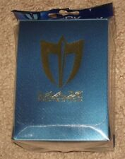 Max Protection Metallic Blue Deck Box for CCG Gaming Cards