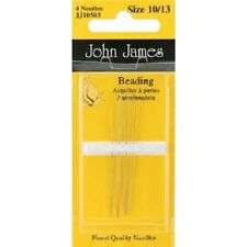 John James Beading Needles Size 10/13 Jewelry Beading Needle BS