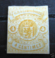 Luxembourg stamp #6 unused NG VF