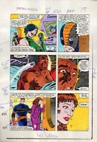 1983 Zeck Captain America 282 page 19 Marvel Comics color guide art: Nick Fury