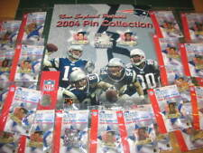 2004 New England Patriots Complete Collector Pin Set