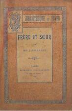 ++J. GIRARDET frere et soeur 1897 FISHBACHER RARE++