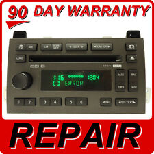REPAIR 03 04 05 08 09 11 Lincoln TOWN CAR Radio 6 CD Changer FIX Player DISC OEM