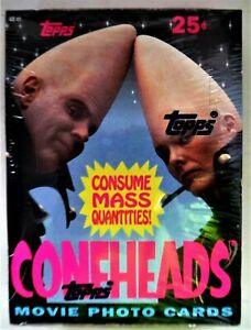 CONEHEADS TOPPS CARDS 1993 Dan Aykroyd  FACTORY SEALED MINT Saturday Night Live