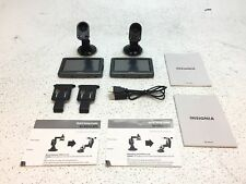 """New listing Lot of 2 Insignia Ns-Nav01 4.3"""" Touchscreen Portable Gps Touch Screen Working"""