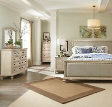 Ashley Furniture Demarlos Queen Upoholstered 6 Piece Bedroom Set
