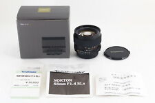 [V.Good] Voigtlander NOKTON 58mm f/1.4 SL II Lens for Nikon Ai-S Box JAPAN R5120