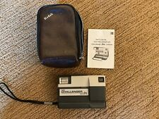 Vintage Kodak Tele-Challenger Disc Camera with Case and Instructions
