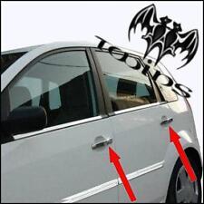 Copri Maniglie Cromate Ford Fiesta 5p 2002-2008 Fusion Cromature acciaio Inox