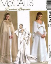 McCall's Misses' Petite Medieval Cape and Dress Pattern M4378 Size 8-14 UNCUT